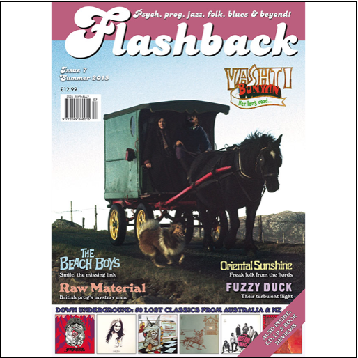 Flashback Magazine Issue #7 - Post to USA & Rest Of World